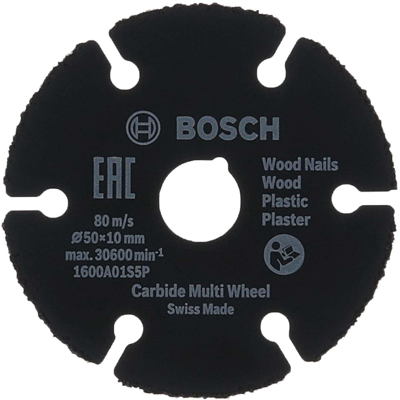 Bosch Trennscheibe Carbide Multi Wheel 50 x 10 mm