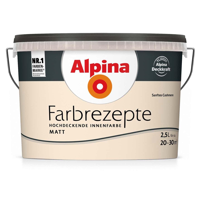 Alpina Farbrezepte Sanftes Cashmere matt 2,5 Liter