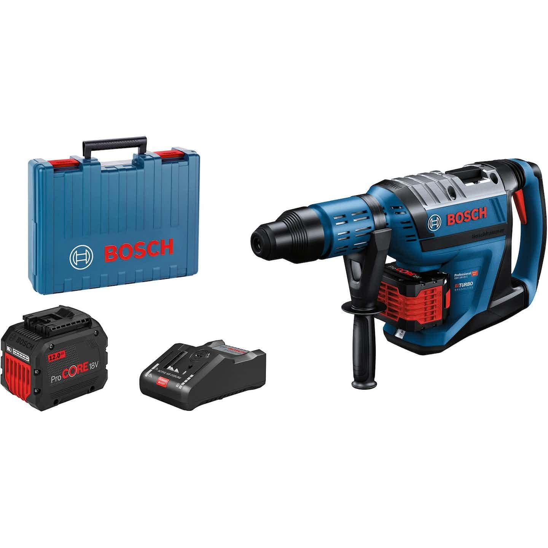 Bosch Professional Akku-Bohrhammer GBH 18-45 C mit 2x 12 Ah