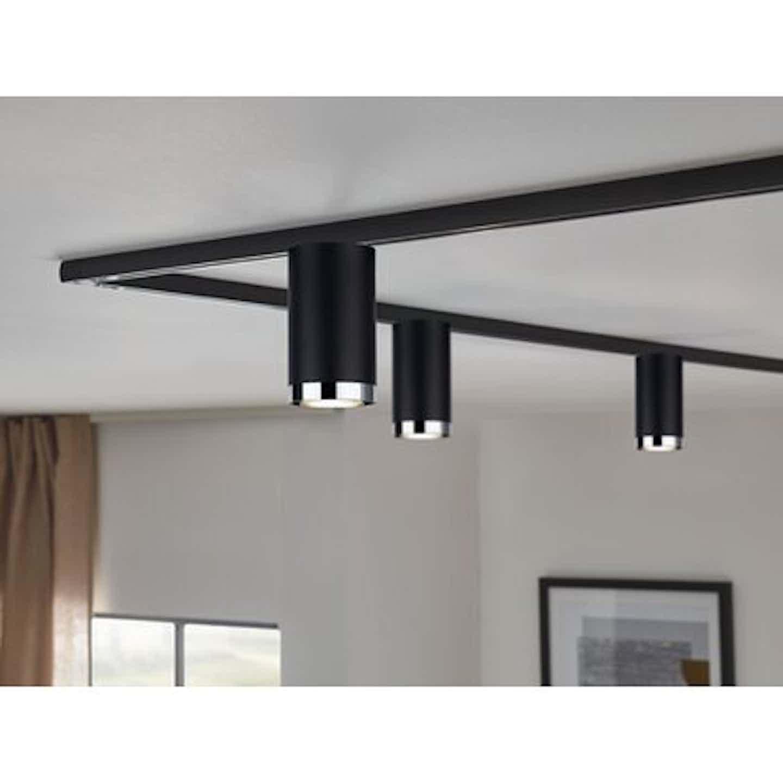 Paulmann URail LED-Spot Tube max. 10W GU10 Schwarz matt Metall/Kunststoff