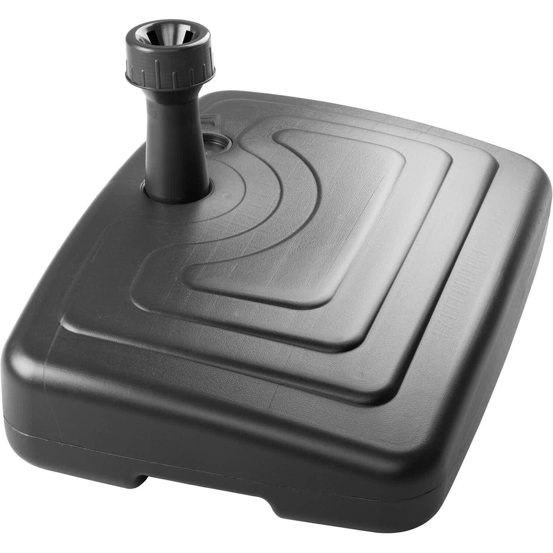 Schneider PE-Balkonschirmständer 25 l Anthrazit
