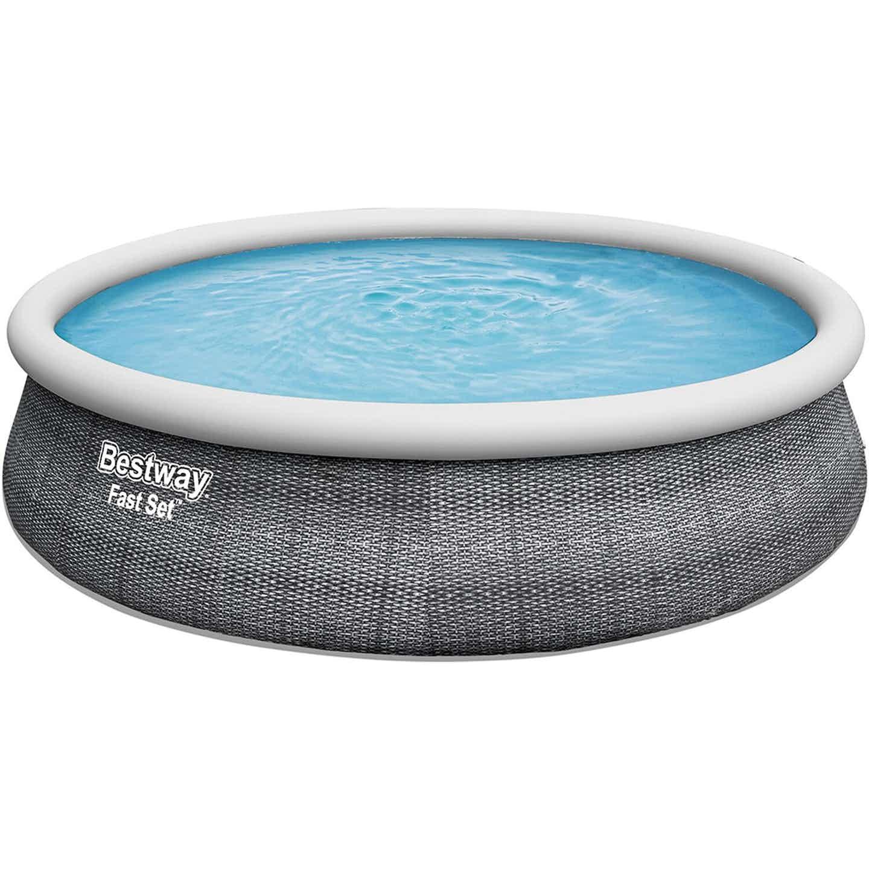 Aufblasbarer Pool Ø 457 cm x 107 cm Rund
