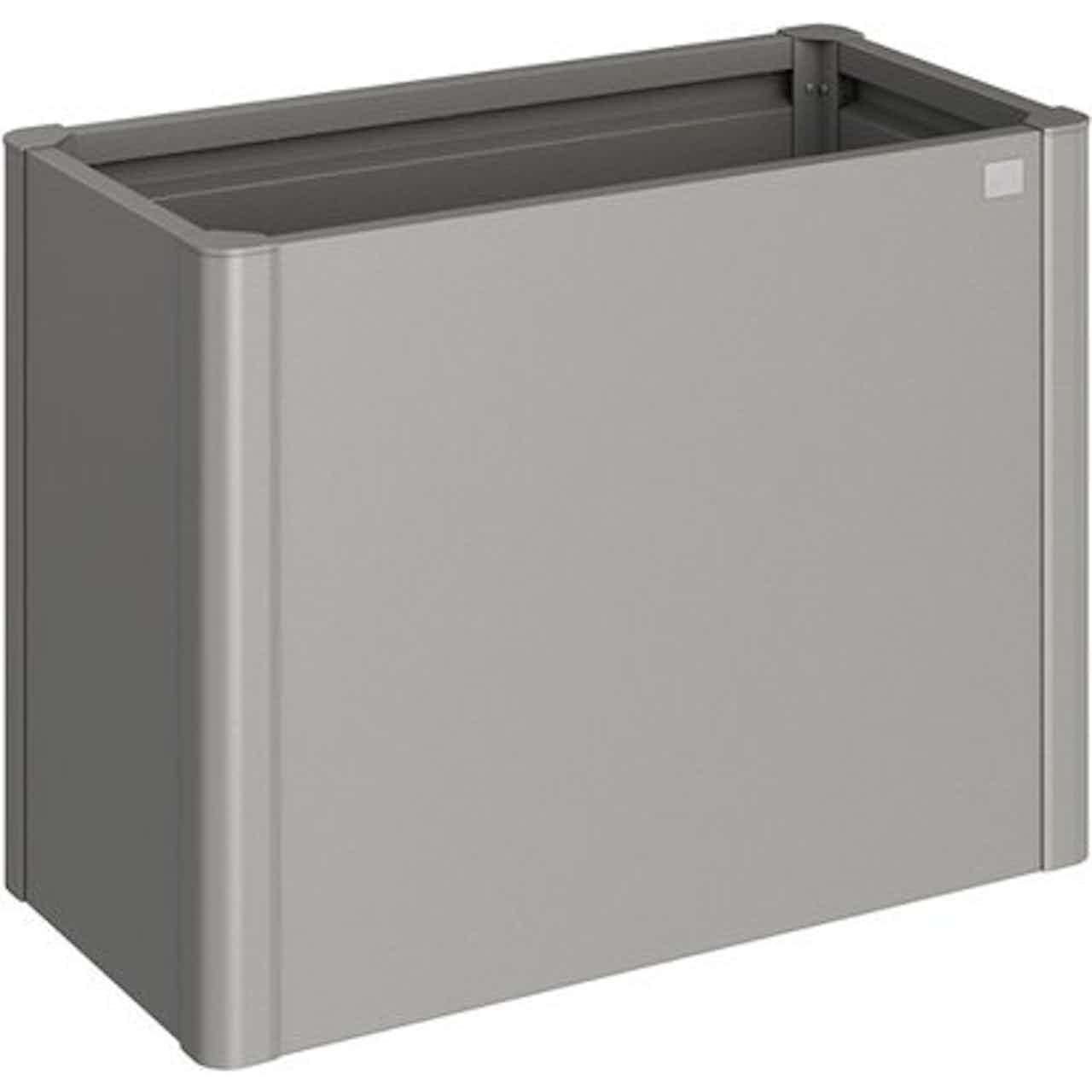 Biohort Metall-Hochbeet 77 cm x 102 cm x 53 cm Quarzgrau-Metallic