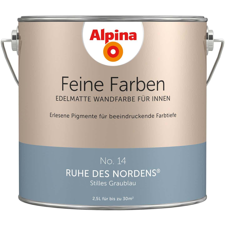 Alpina Feine Farben No. 14 Ruhe des Nordens® edelmatt 2,5 Liter