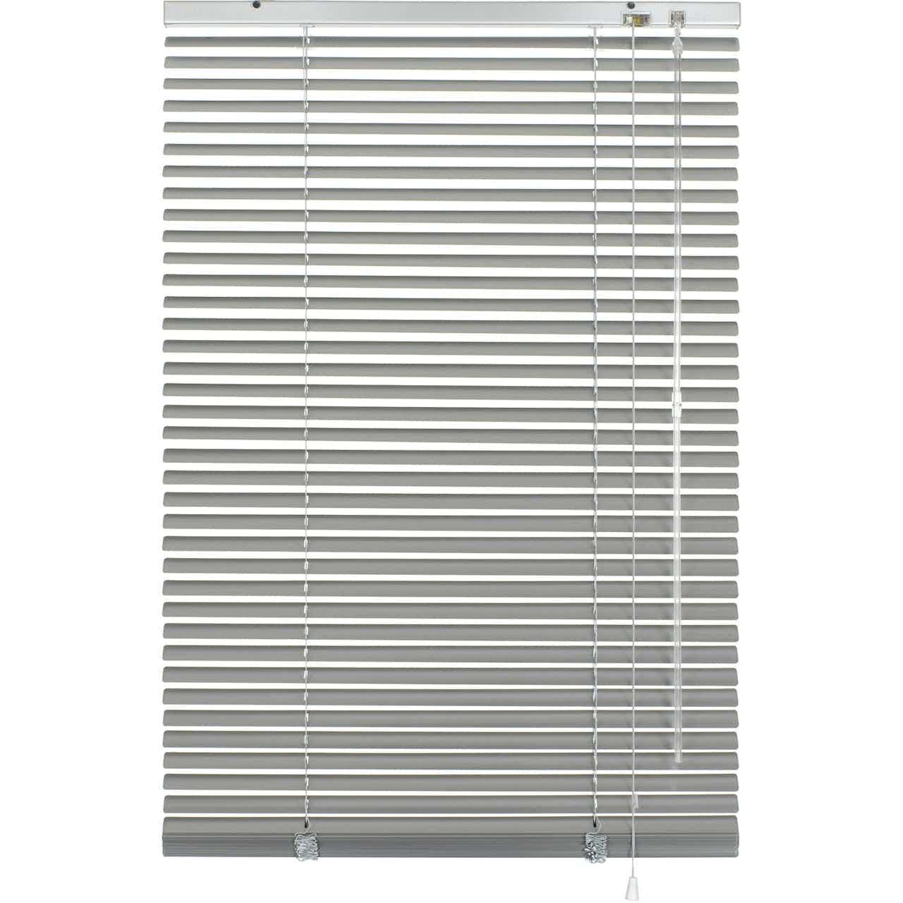 Gardinia Aluminium Jalousie 40 cm x 175 cm Silber