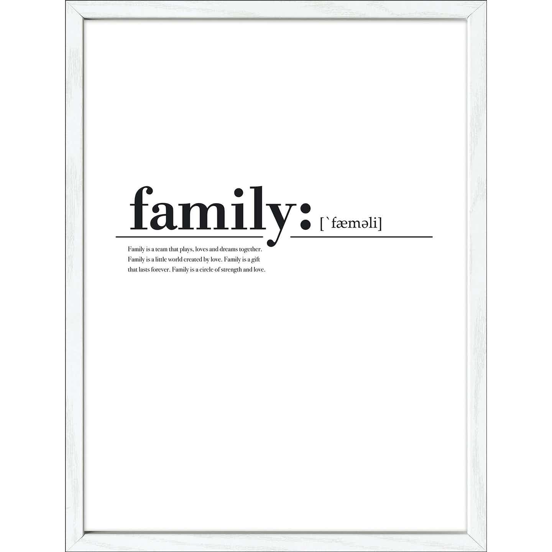 Bild mit Rahmen Anonymus Family 42,5 cm x 32,5 cm