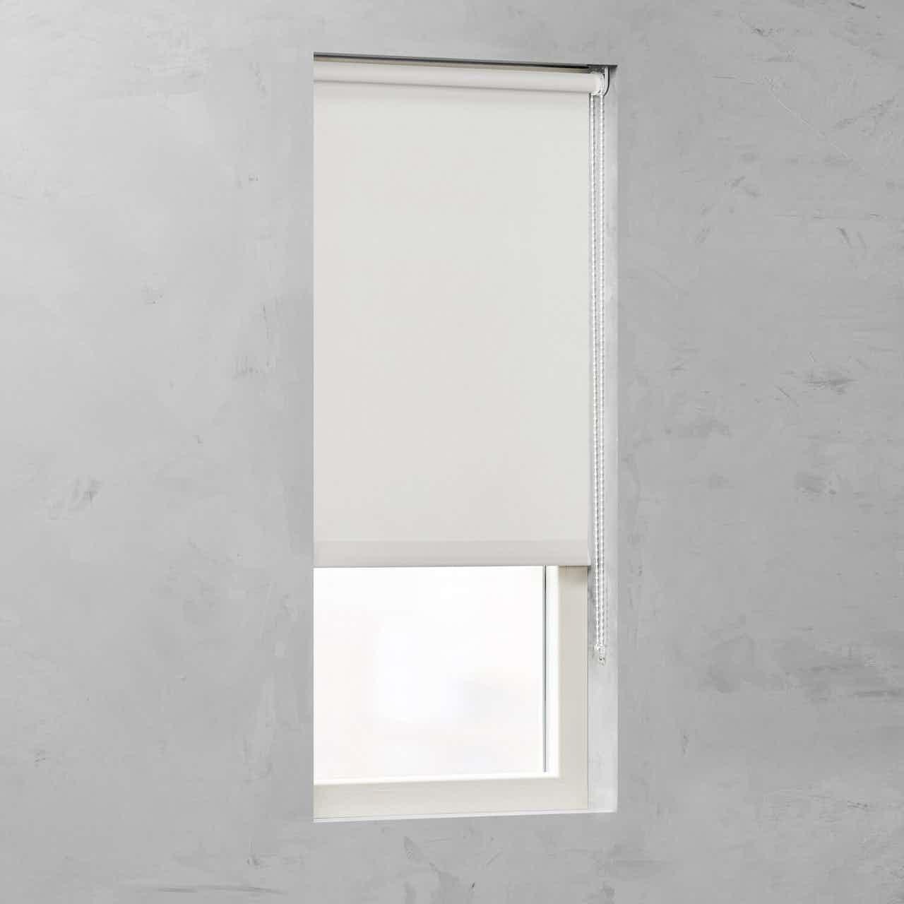 Cocoon Rollo Tageslicht 25 mm Weiß 80 cm x 190 cm