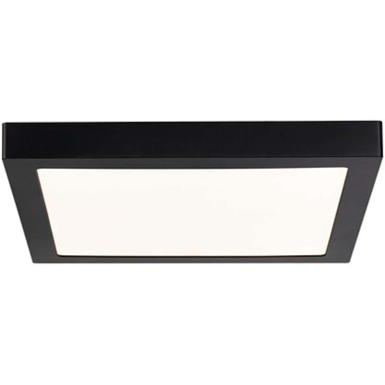 Paulmann LED-Panel Abia eckig 300x300 mm 22 W, 2.700 K Schwarz matt