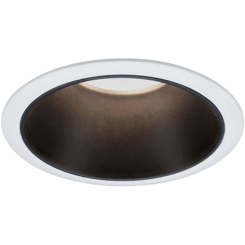 Paulmann LED-Einbauleuchte Cole 6,5 W Weiß-Schwarz matt EEK: A+