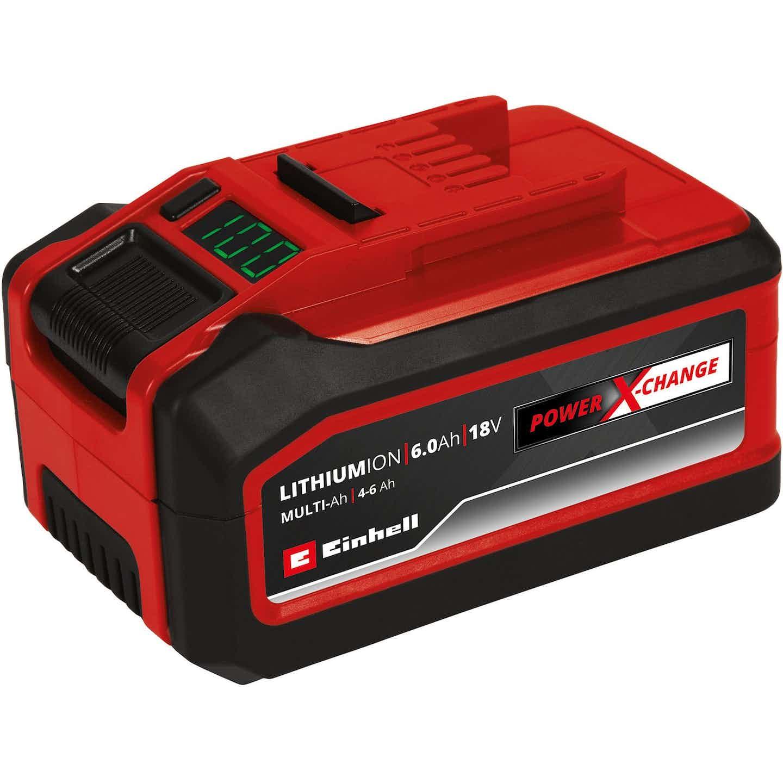 Einhell Power X-Change Akku 18 V 4-6 Ah Multi-Ah PXC Plus