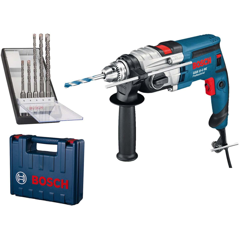 Bosch Professional Schlagbohrmaschine GSB 19-2 RE 850 W inkl. Koffer
