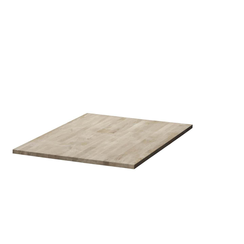 Tischplatte Eiche 120 cm x 80 cm x 2,8 cm