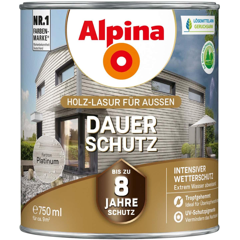 Alpina Dauer-Schutz Platinum seidenmatt 750 ml