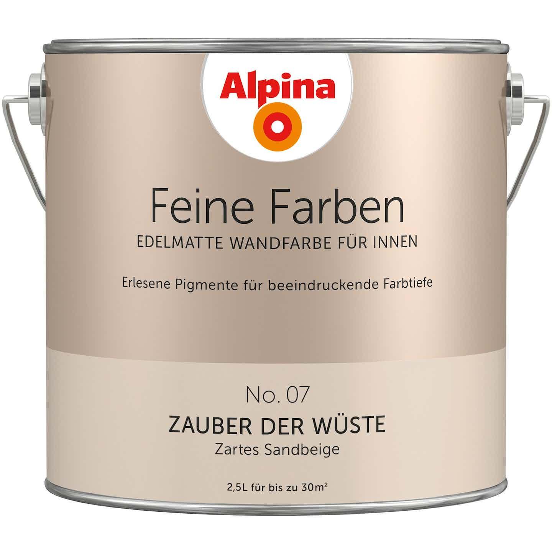 Alpina Feine Farben No. 7 Zauber der Wüste edelmatt 2,5 Liter