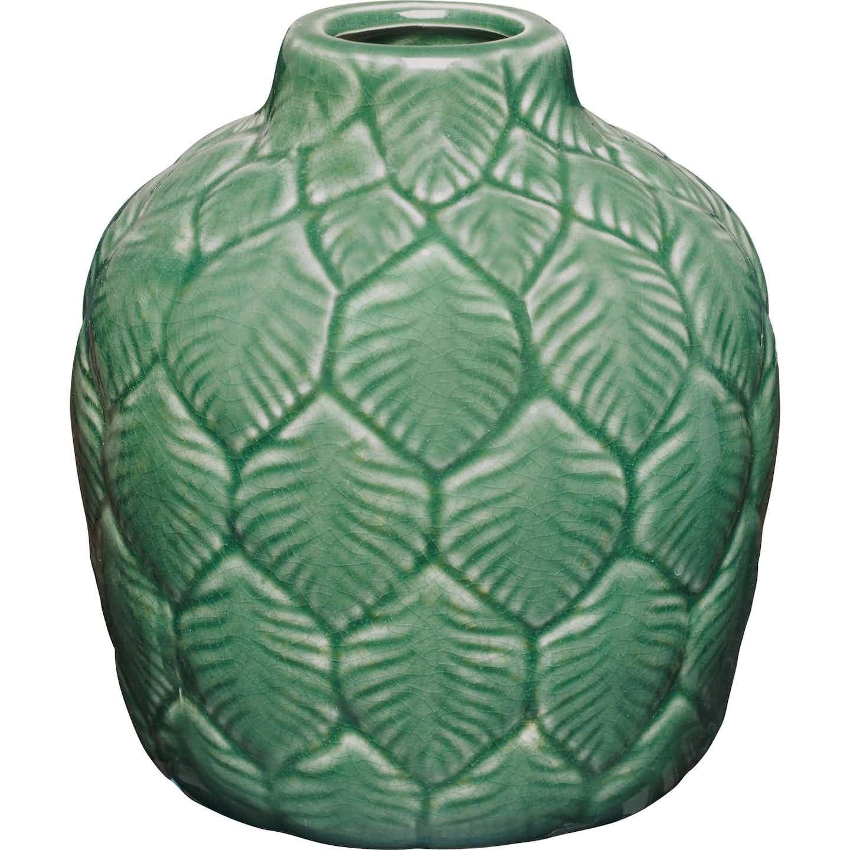 Vase Glam Forest Ø 12,5 cm x 13,5 cm Grün