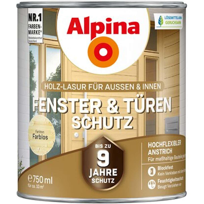 Alpina Fenster- und Türen-Schutz Farblos 750 ml