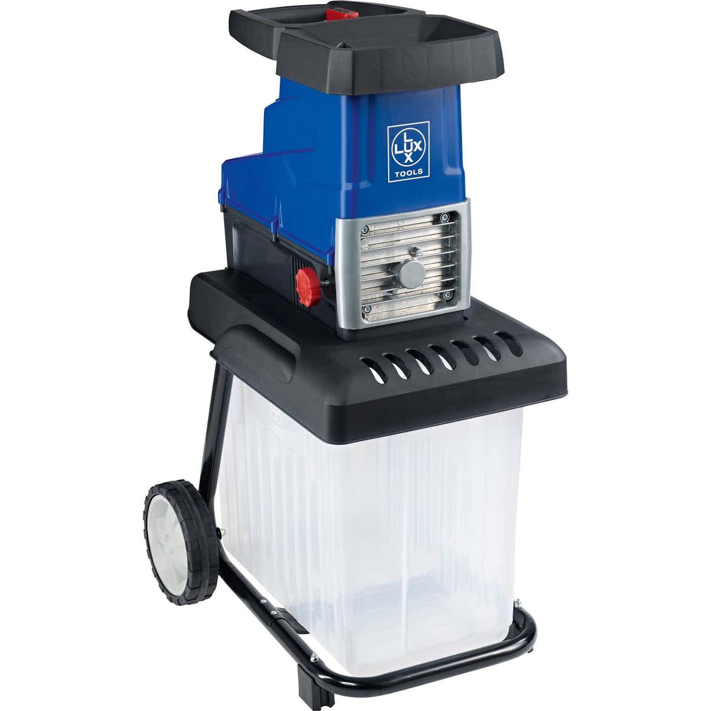 LUX Elektro-Leisewalzenhäcksler E-LH-2800