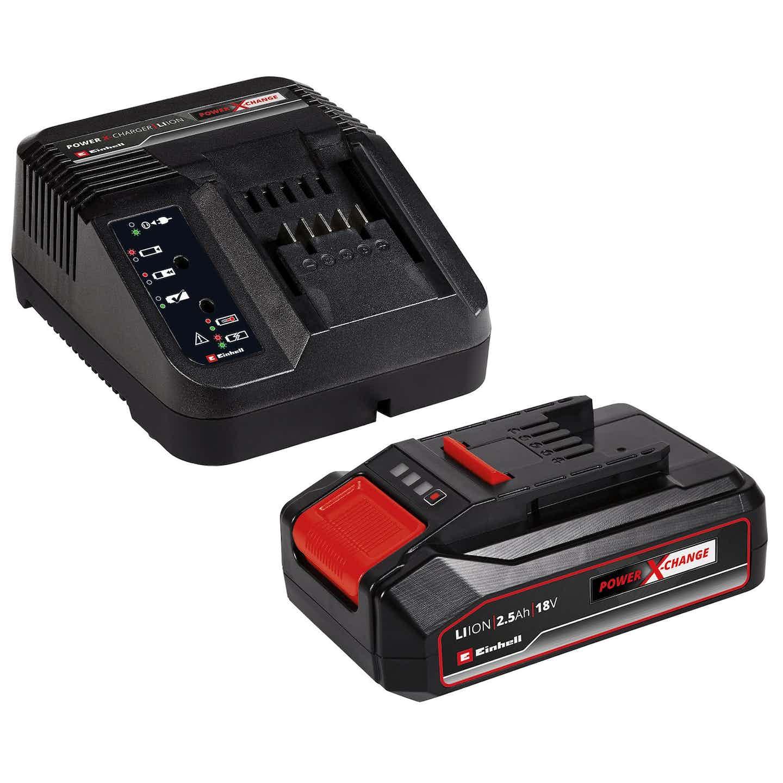 Einhell Power-X-Change Starter Kit 18 V 2,5 Ah