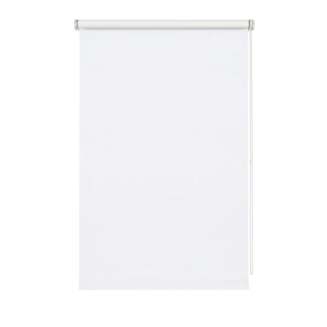 Wohnidee  Rollo lichtdurchlässig Weiß 45 cm x 150 cm