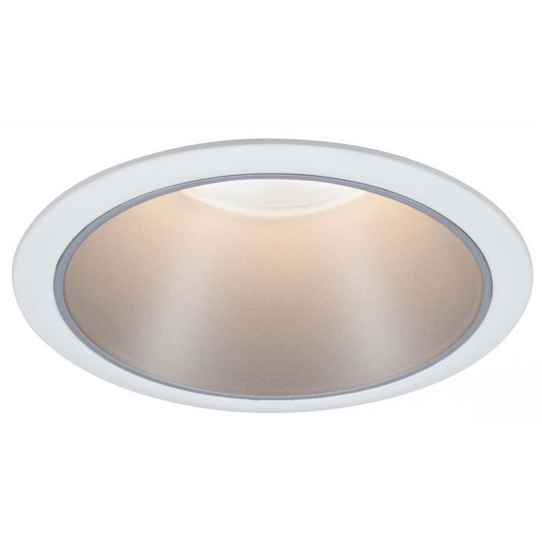 Paulmann LED-Einbauleuchte Cole 6,5 W Weiß-Silber matt EEK: A+