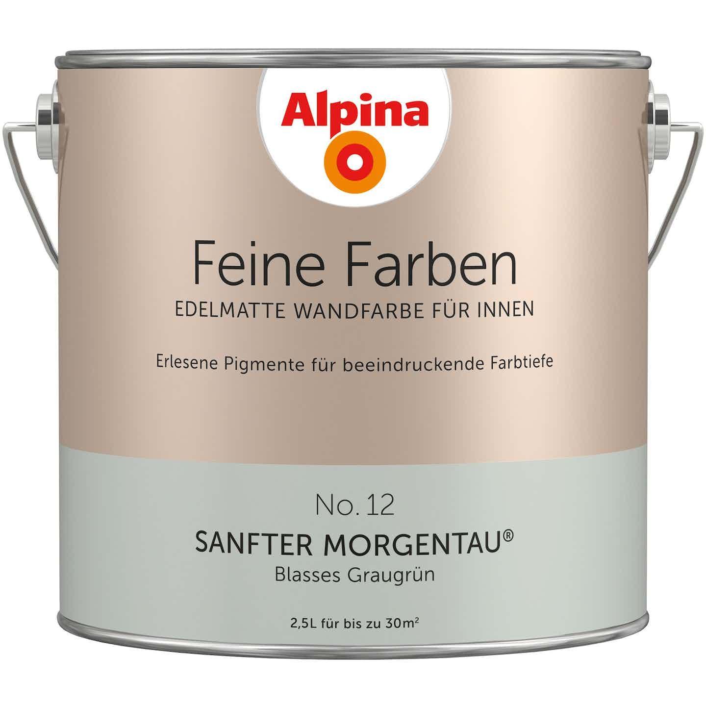 Alpina Feine Farben No. 12 Sanfter Morgentau edelmatt 2,5 Liter