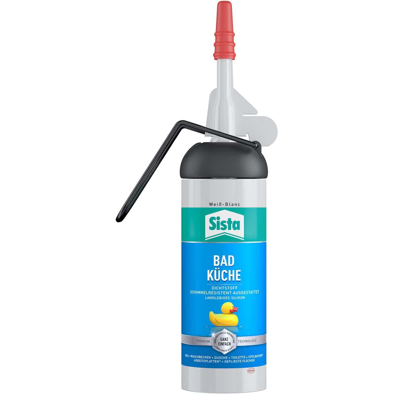 Sista Bad & Küche Silikon Spender Weiß 100 ml
