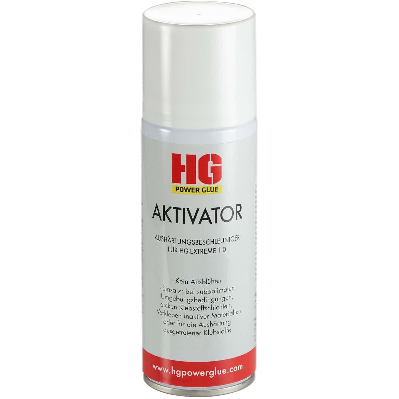 HG Power Glue Aushärtebeschleuniger HG Aktivator Spray 200 ml