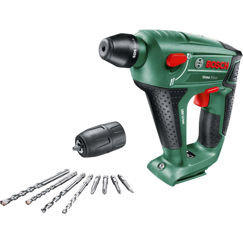 Bosch Akku-Bohrhammer Uneo Maxx 18 V Solo