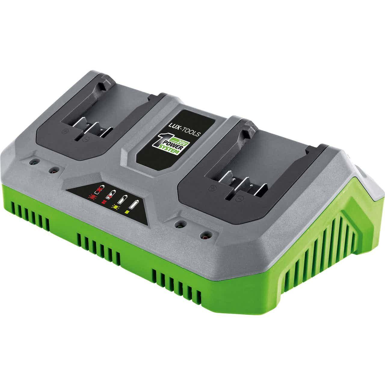 LUX 20 V Doppel-Schnellladegerät 1 PowerSystem