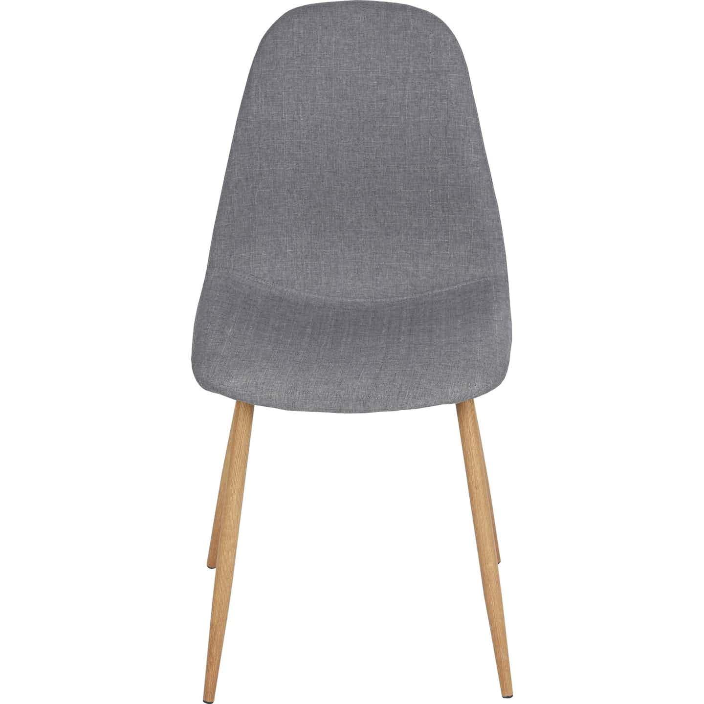 Stuhl Charlton Grau 44 cm x 53 cm x 86 cm 2 Stück