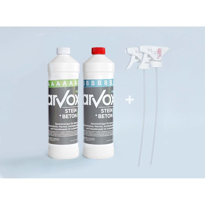 Arvox Reinigung Pro Stein + Beton 2 l