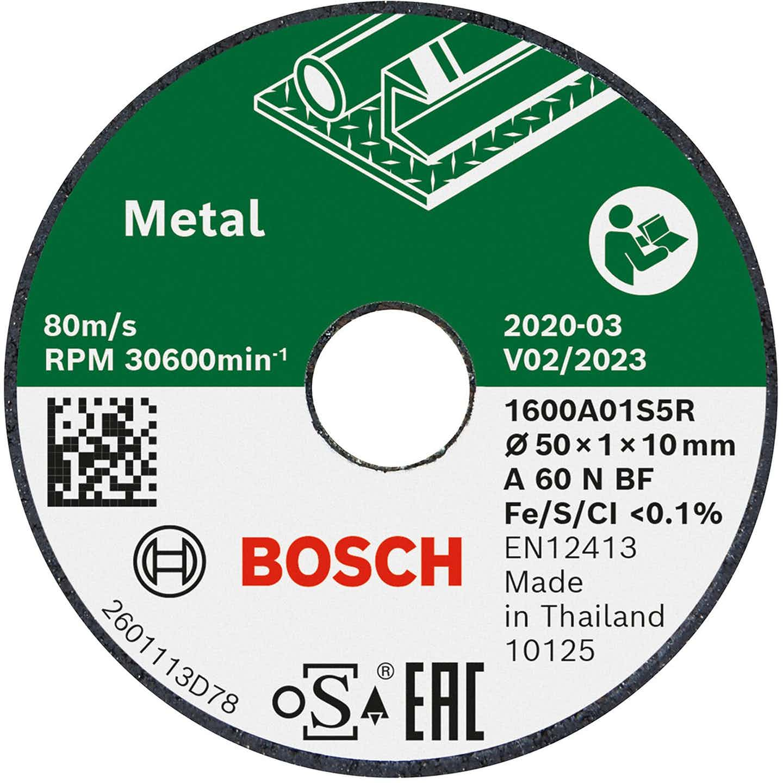 Bosch Trennscheibe Expert for Inox gerade 50 mm 3er-Pack