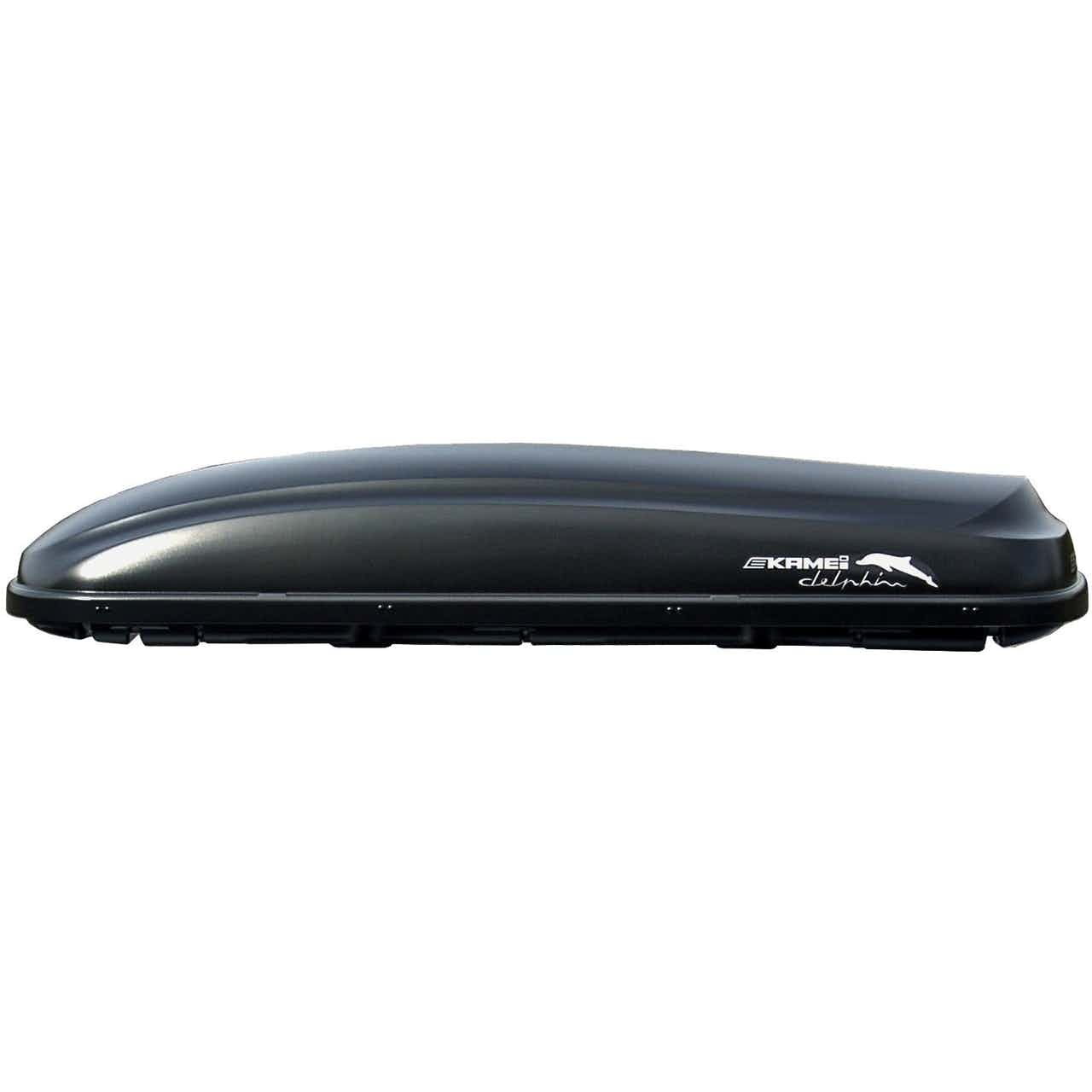 Kamei Auto-Dachbox Delphin 470 l Schwarz matt