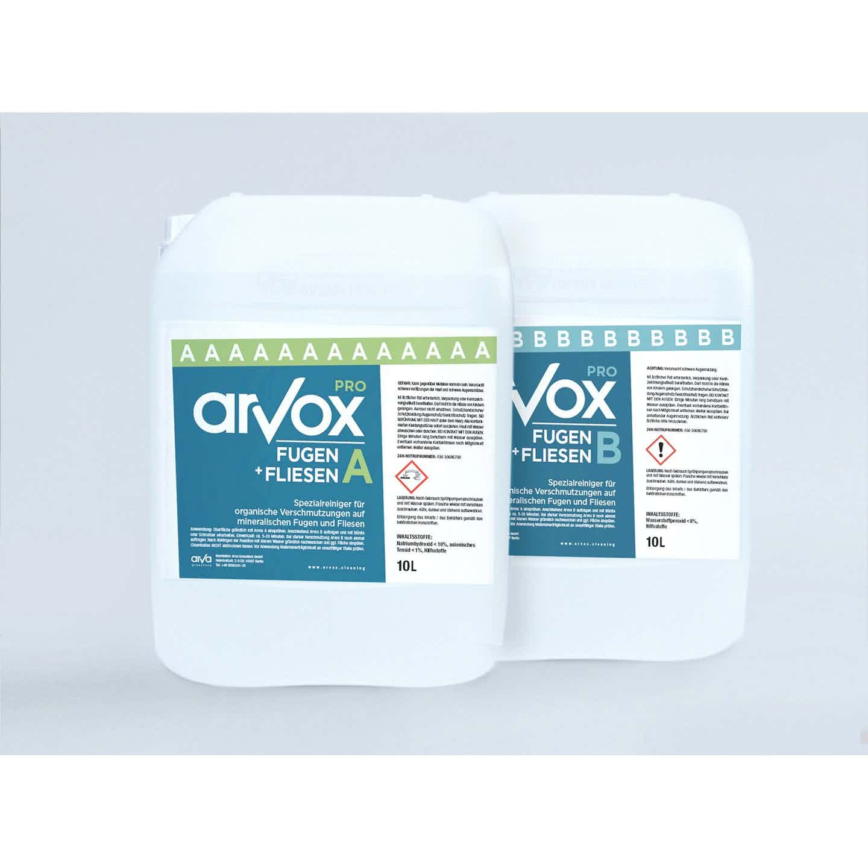 Arvox Reinigung Pro Fugen + Fliesen 20 l
