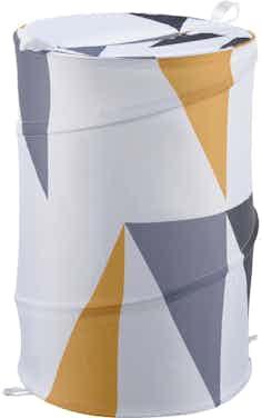 baliv Wäschesammler Retro Futures 53 l Polyester Retromustern Mehrfarbig