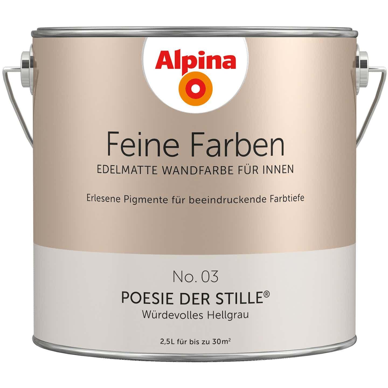 Alpina Feine Farben No. 3 Poesie der Stille edelmatt 2,5 Liter