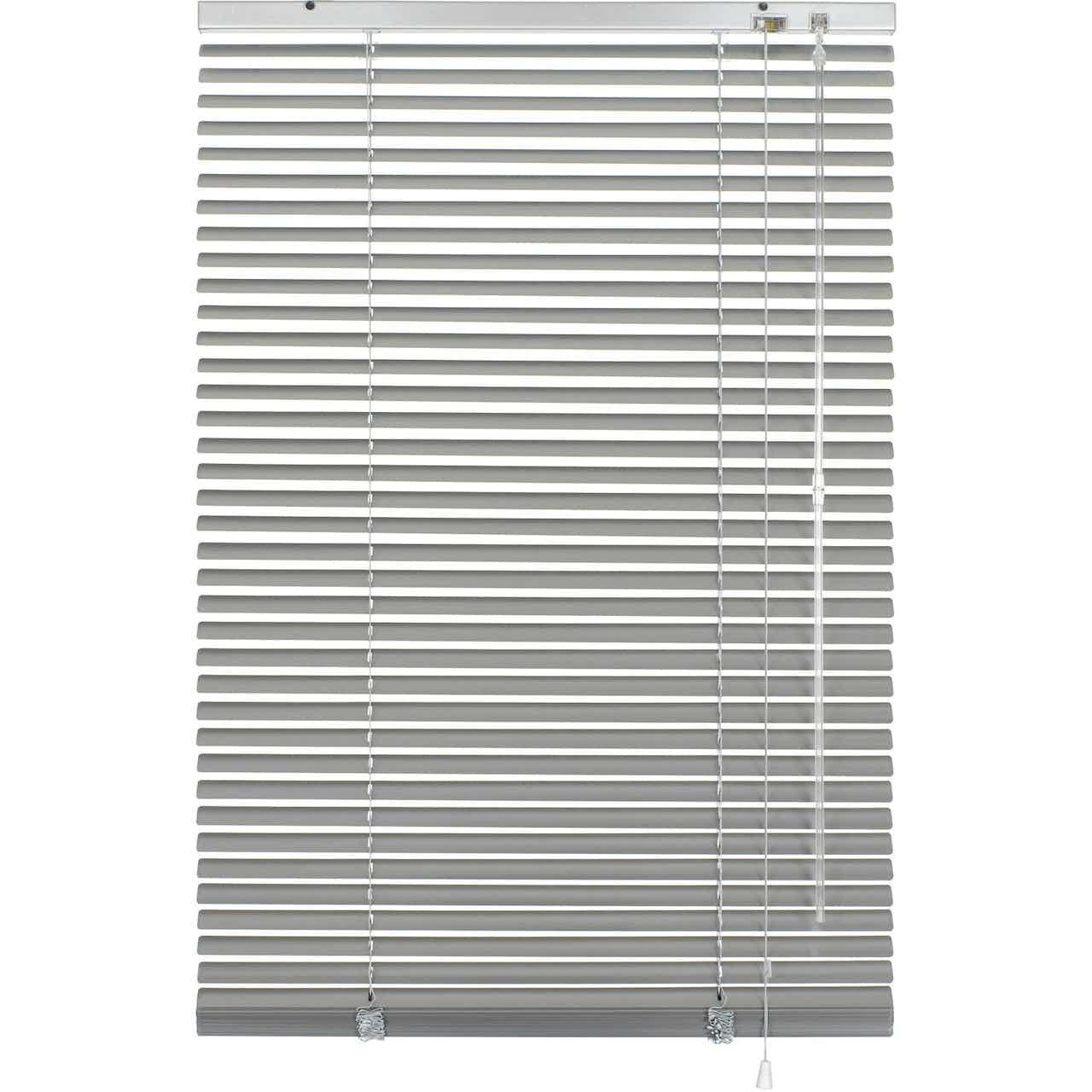 Gardinia Aluminium Jalousie 90 cm x 240 cm Silber