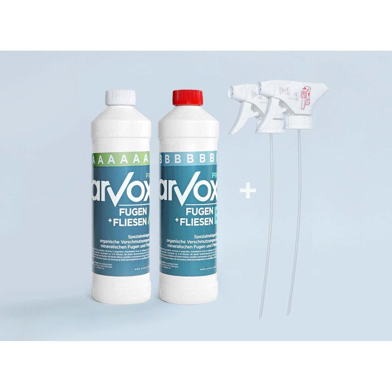 Arvox Reinigung Pro Fugen + Fliesen 1 l