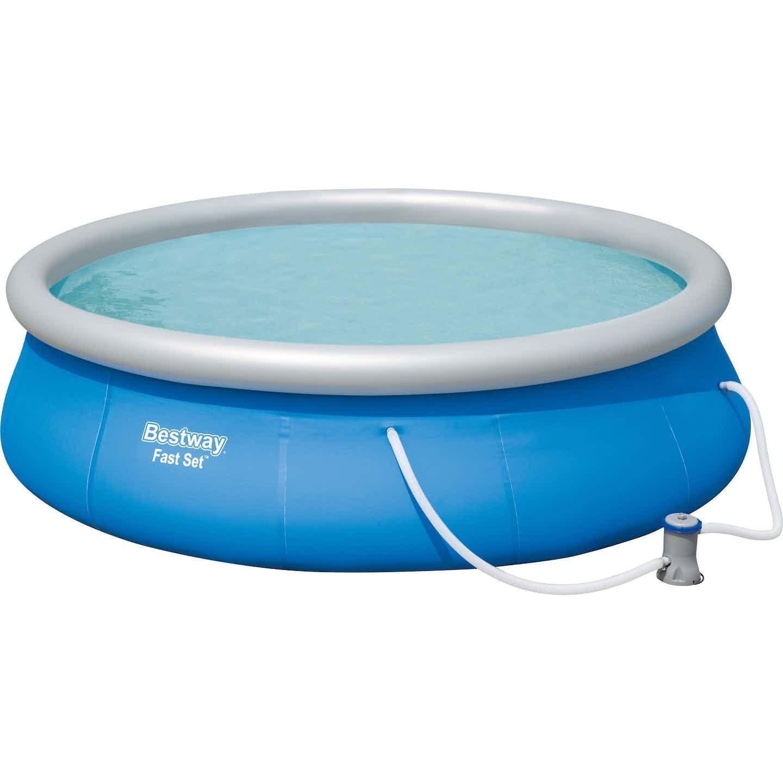 Bestway Fast Set Pool Ø 396 cm x 84 cm Rund