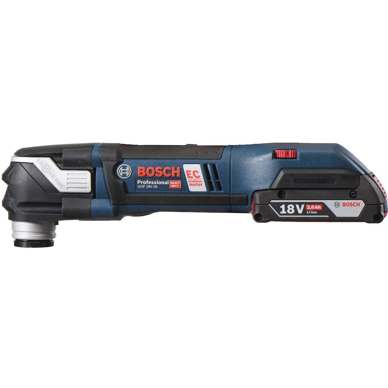 Bosch Professional Akku-Multi-Cutter GOP 18 V - 28 Solo