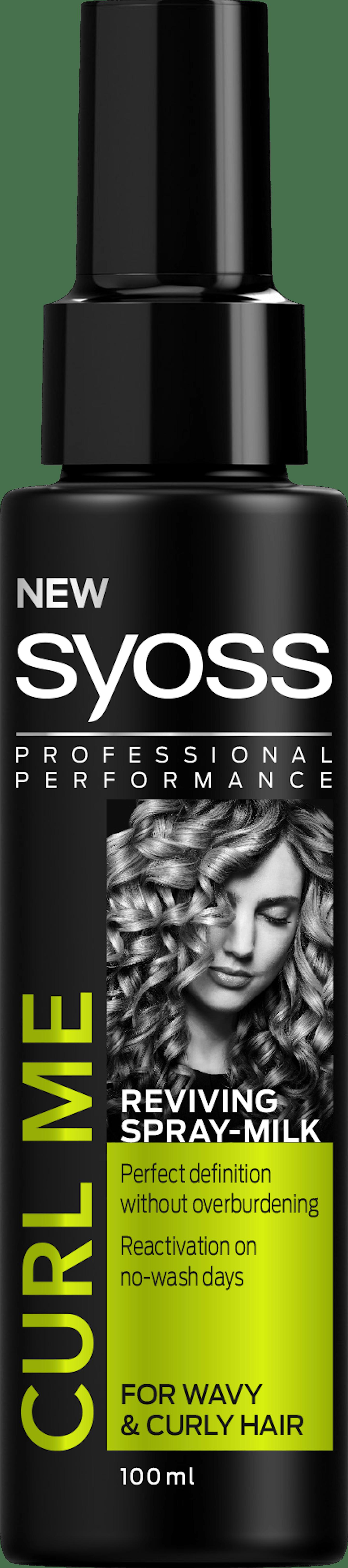 Syoss Curl Me Reviving Spray Milk