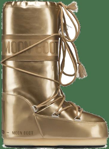 Moon Boots Vinil Met - Winterschuhe  GOLD