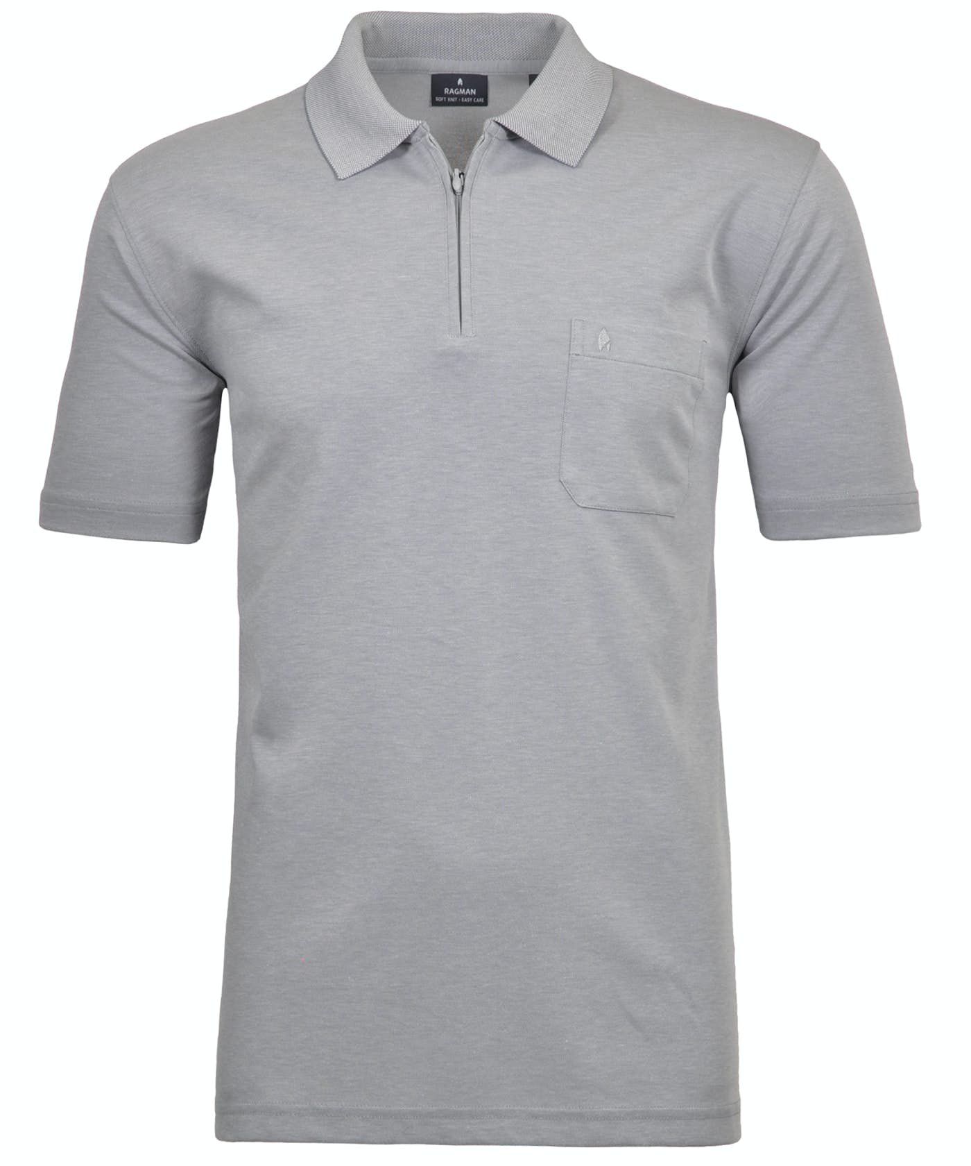 RAGMAN Kurzarm Poloshirt