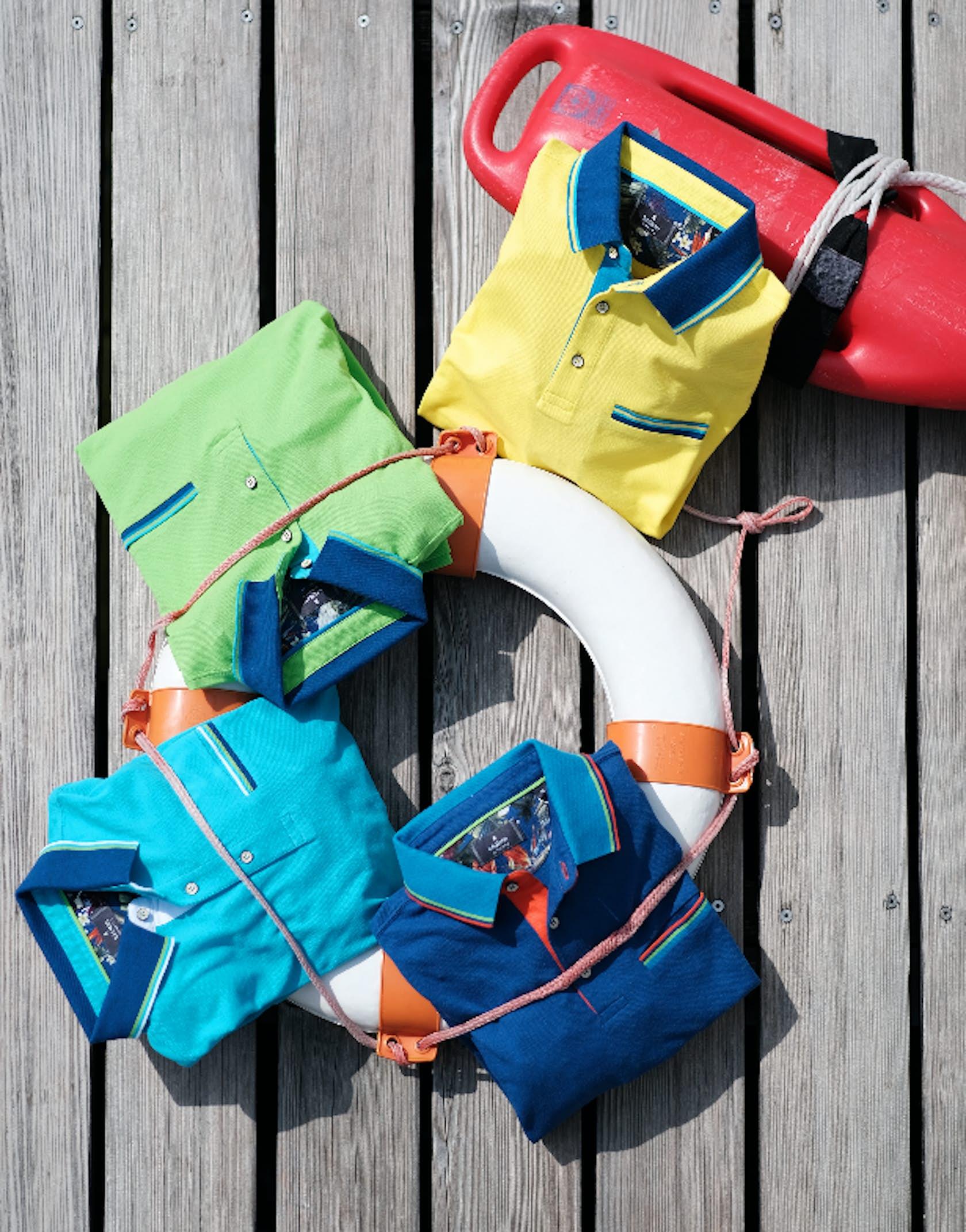 Poloshirts für ihn in bunten Farben