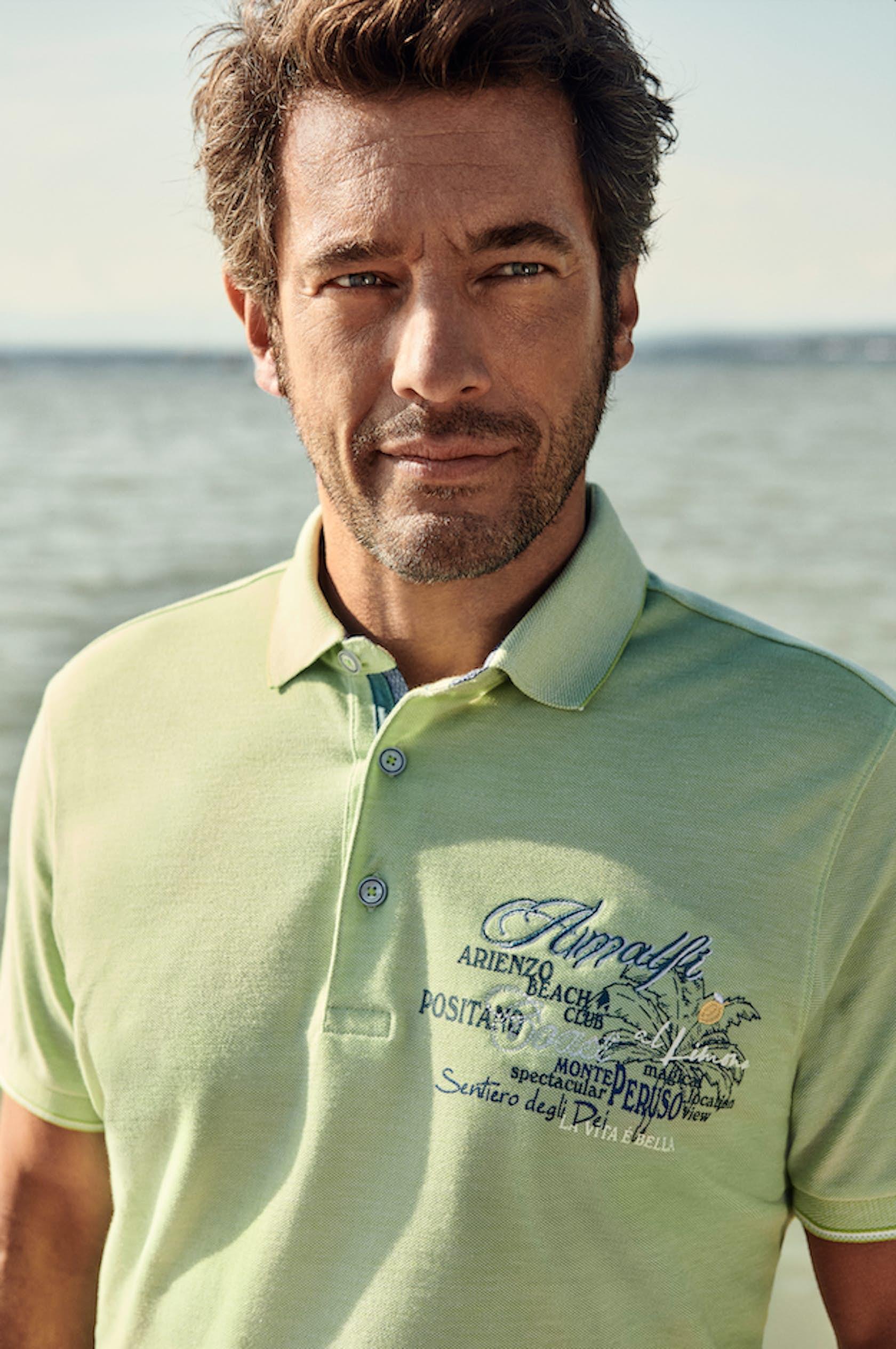 RAGMAN Man of Joy Herren Outfit, Poloshirt
