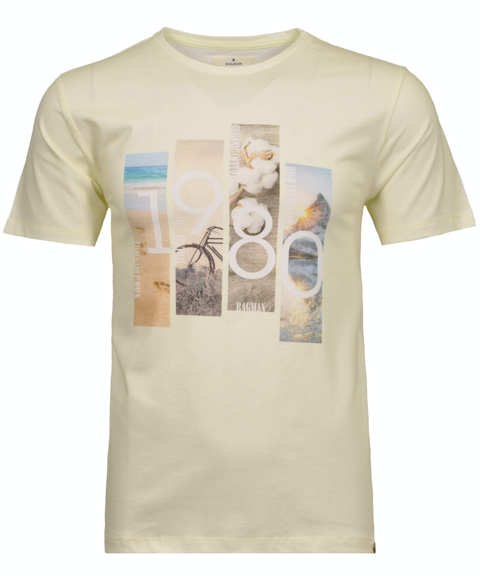 T-Shirt 1980 BioRe-Baumwolle