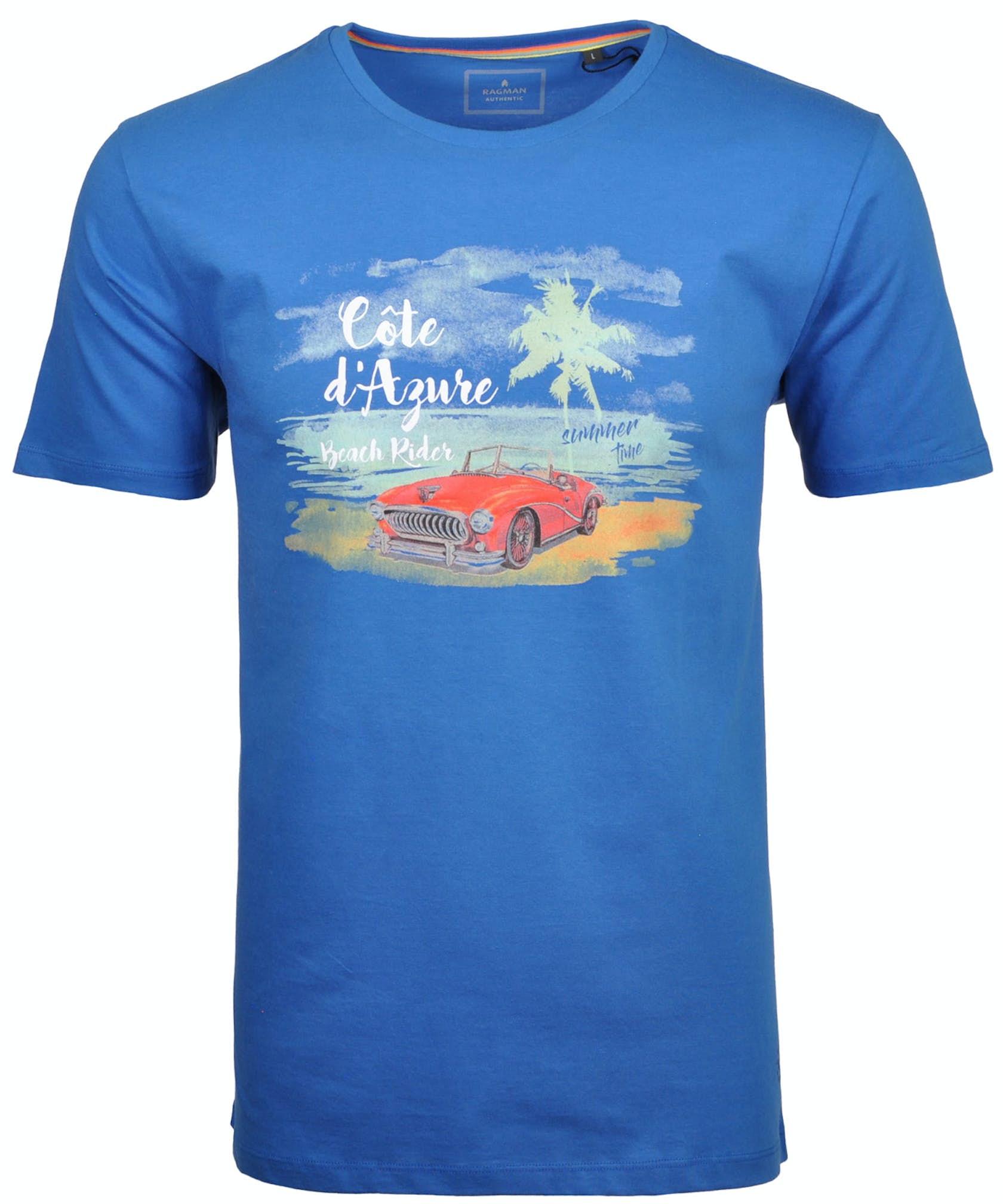 T-Shirt Rundhals mit Front-Print
