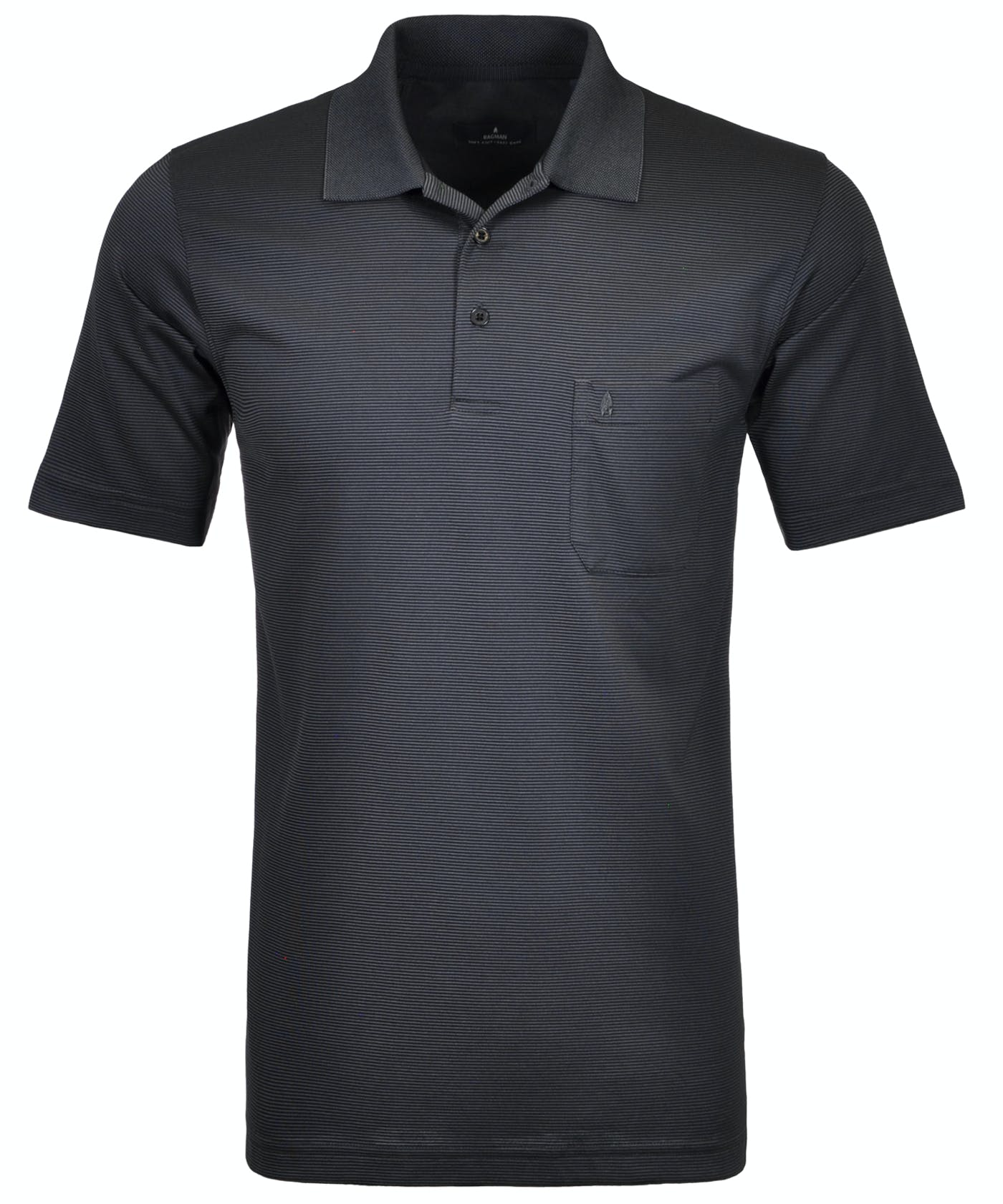 Softknit-Polo fein gestreift