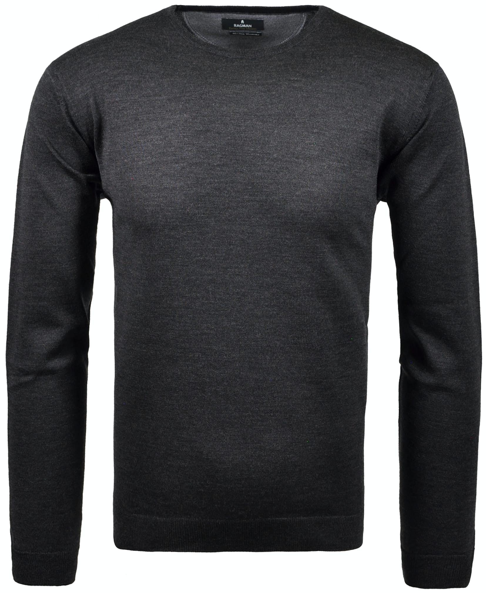 RAGMAN Rundhals-Pullover Merino