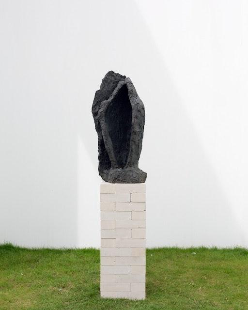 Per Kirkeby, Læsø-Kopf II, 1983 © Michael und Eleonore Stoffel Stiftung